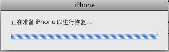 准备iphone以进行恢复
