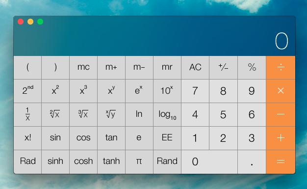 iPhonelog软件介绍之自带算计器2